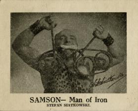 Samson- Man of Iron