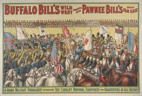 Buffalo Bill & Pawnee Bill: Grand Military Tournament