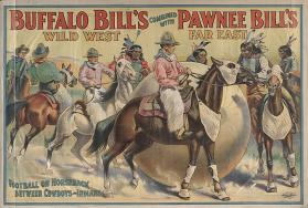 Buffalo Bill & Pawnee Bill: Football on Horseback