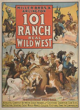 101 Ranch Wild West: Equestrian Football