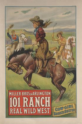 101 Ranch Wild West: Cowgirl Bronco Buster