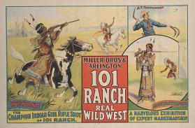 101 Ranch Wild West: Wenona, Champion Indian Girl Rifle Shot