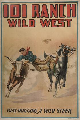 101 Ranch Wild West: Bull Dogging A Wild Steer