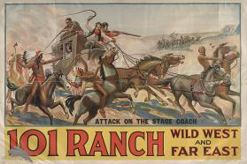 101 Ranch Wild West: Attack on the Stage Coach