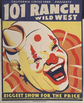 101 Ranch Wild West by California Circus Corporation: Clown