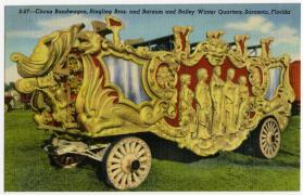 Circus Bandwagon, Ringling Bros. and Barnum and Bailey Winter Quarters, Sarasota, Florida