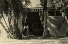 Entrance, Museum of the American Circus, Sarasota, Florida