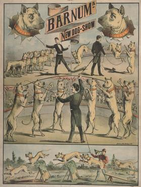 Barnum's New Dog Show