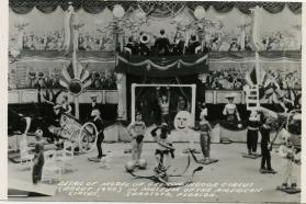 Detail of Model of French Indoor Circus
