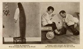 Ripley's Believe It or Not: Lydia McPherson and Harry and Lillian McGregor