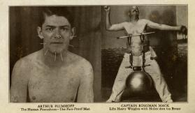 Ripley's Believe It or Not: Arthur Plumhoff and Captain Ringman Mack