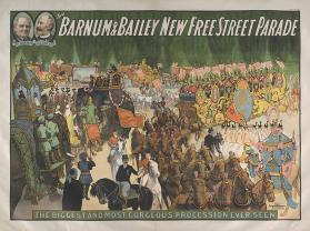 Barnum & Bailey: New Free Street Parade
