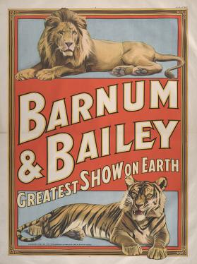 Barnum & Bailey: Lion and Tiger