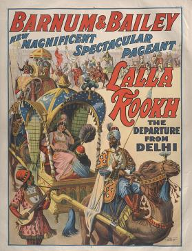 Barnum & Bailey: Lalla Rookh, The Departure from Delhi