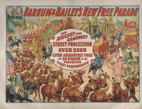 Barnum & Bailey: New Free Parade