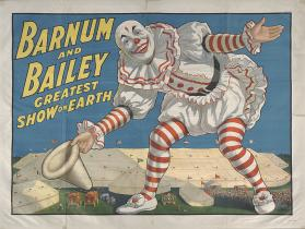 Barnum & Bailey: Clown Tipping Hat