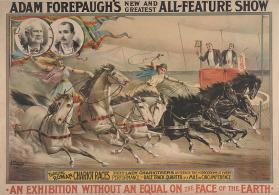 Adam Forepaugh: Thrilling Roman Chariot Races