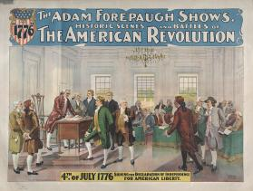 Adam Forepaugh: American Revolution
