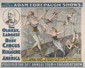 Adam Forepaugh: Thrilling Aerial Feats