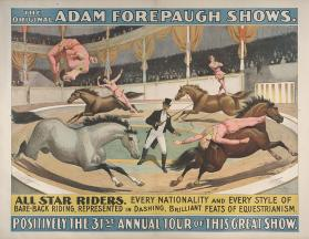 Adam Forepaugh: All Star Riders