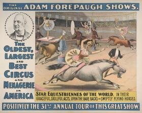 Adam Forepaugh: Star Equestriennes of the World
