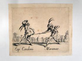 """Capo. Cardoni and Maramao"", from Balli di Sfessania"