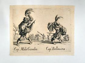 """Capo. Mala Gamba and Capo. Bellauita"", from Balli di Sfessania"