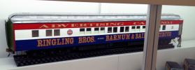 """Advertising Car No. 1""  from Ringling Brothers, Barnum and Bailey Circus Model Train"