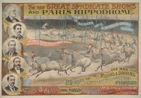 New Great Syndicate Shows And Paris Hippodrome: 29 Head Of Matchless Thoroughbred Horses