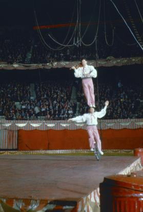 Acrobats Performing