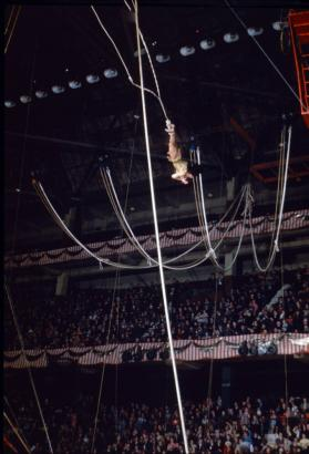 Aerial Act in Boston Garden