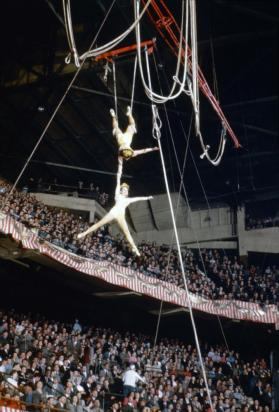 Aerial Act in Boston Gardens