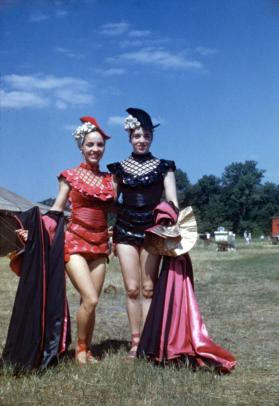 2 female performers in Costume in BY