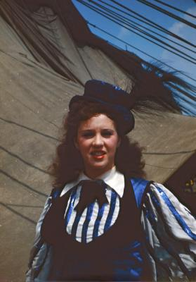 Fay Romig in Costume