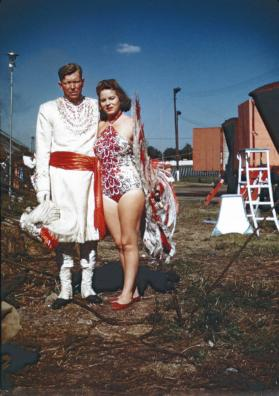 2 Performers in Costume