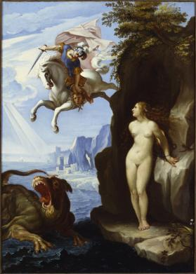 Copy after Arpino's Perseus and Andromeda