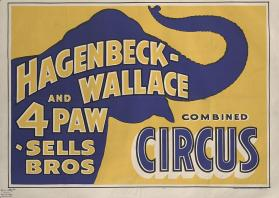 Hagenbeck-Wallace & Forepaugh Sells Bros.: Elephant