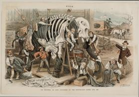 """As Natural As Life"" - Patching Up The Republican Jumbo for 1888"