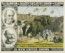 Barnum & Bailey: Leaping Over Elephants