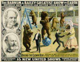 Barnum & Bailey: Bruno the Clown Bear